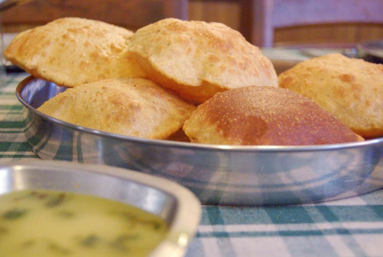 إعداد الخبز البوري
