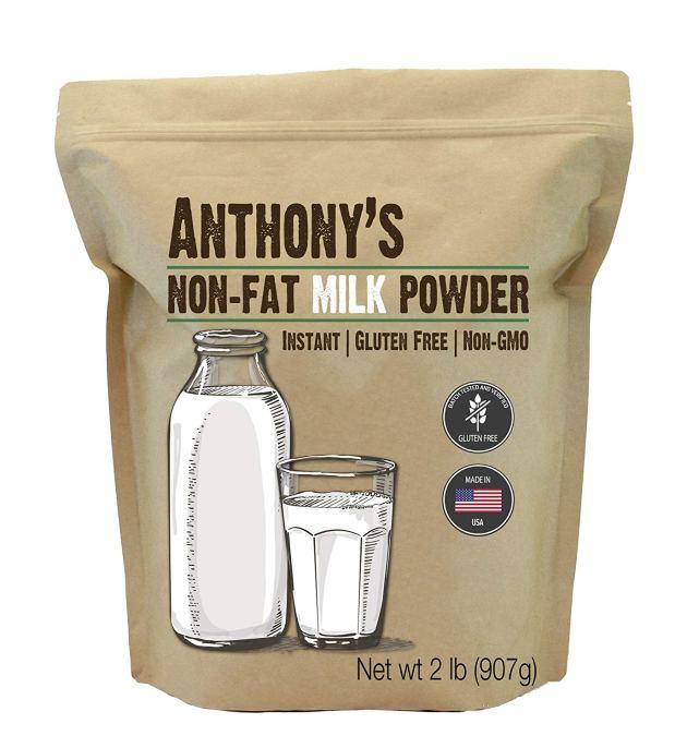 الحليب المجفف أو البودرة :