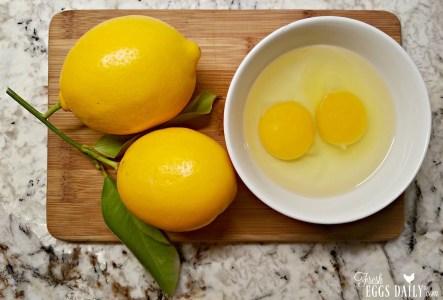 قناع البيض والليمون