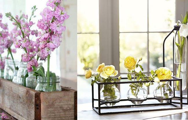 صور تنسيق المزهريات في المنزل