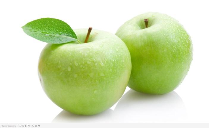 فوائد التفاح .