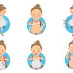 Pregnancy symptoms صورة أعراض الحمل