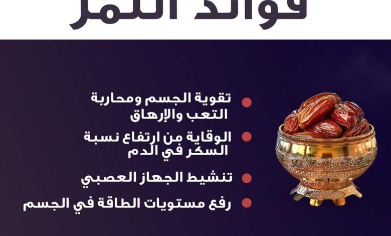 Photo of فوائد التمر