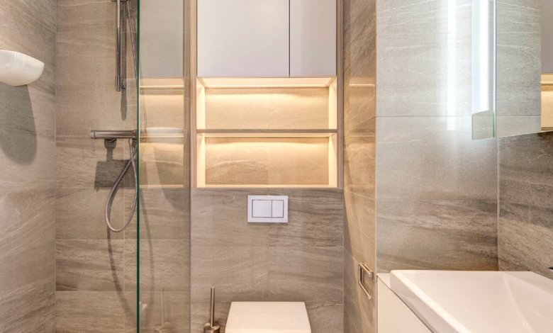 Photo of اجمل ديكورات حمامات صغيرة جدا وبسيطة , لو حمام بيتك صغير اختارلك ديكور