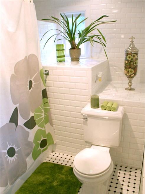 ديكور حمامات صغيرة . 6
