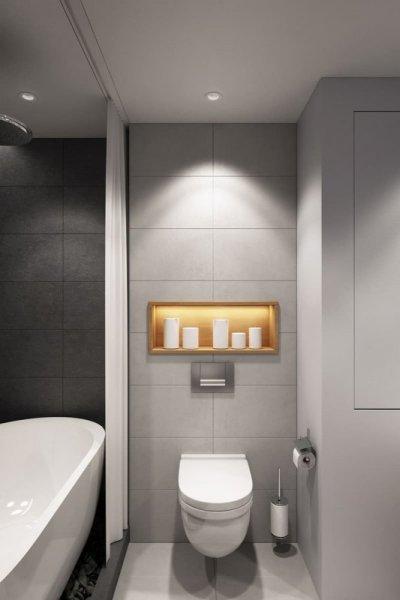 ديكور حمامات صغيرة .