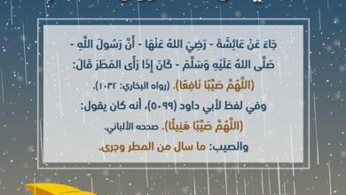 Photo of دعاء المطر , الدعاء الذى يقال عند المطر