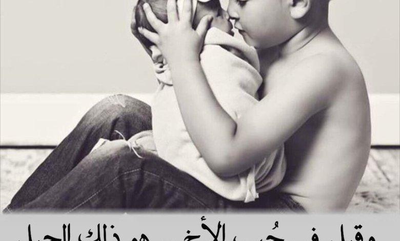 Photo of قصيدة عن الاخ , ابيات شعر مؤثرة عن الشقيق