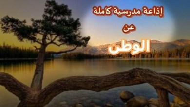 Photo of إذاعة مدرسية عن دور المواطنين تجاه الوطن