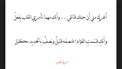 Photo of أفضل 10 قصائد للشاعر الجاهلي امرؤ القيس