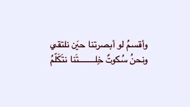 Photo of اجمل ما قيل في الحب و الغزل و الشوق للحبيب