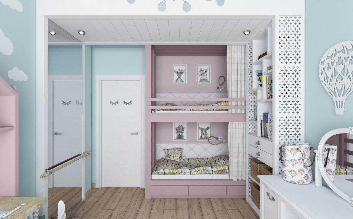 افكار لديكور الغرف الصغيرة