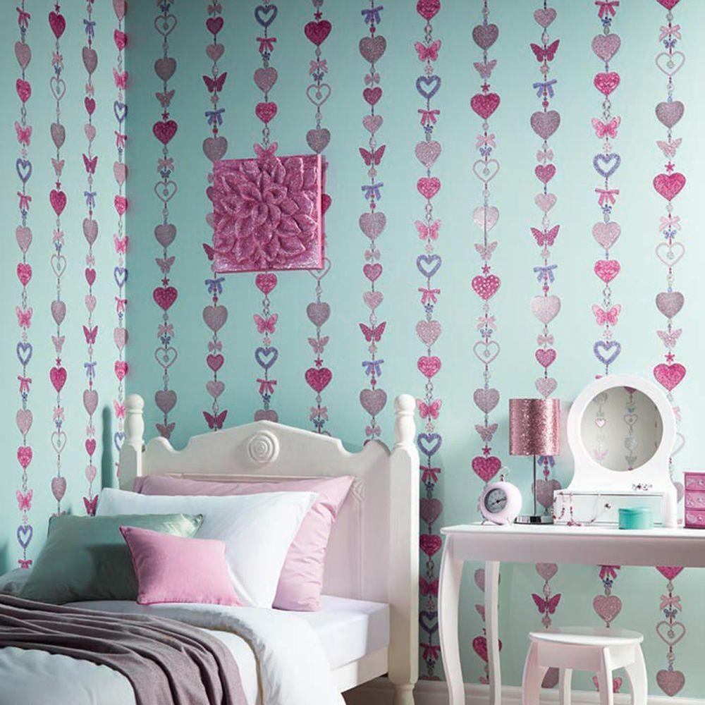 ورق الحائط للغرف الصغيرة