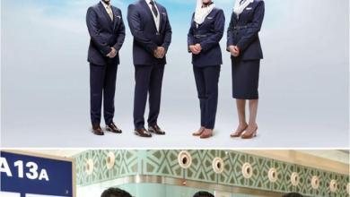 Photo of شاهد.. الزي الجديد لمضيفي ومضيفات الخطوط السعودية
