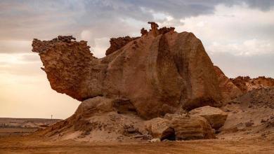 Photo of شاهد: صخرة الجمل.. تحفة نادرة تجذب السياح في الوجه بتبوك