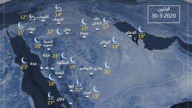 Photo of غيوم رعدية ورياح على بعض المناطق.. بالصور: تفاصيل حالة الطقس اليوم الإثنين