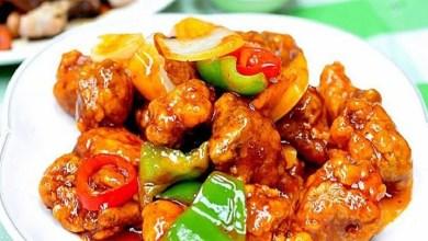 Photo of طريقة عمل سويت اند ساور من المطبخ الصيني