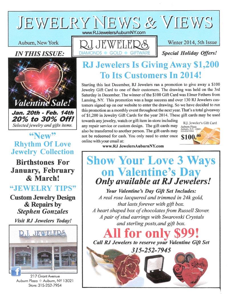 January 2014 RJ Jewelers Blog