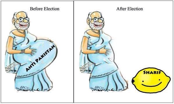 2. Modi before election vs After election