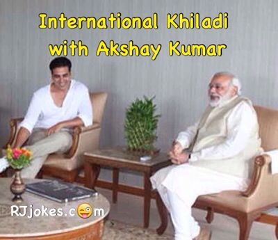 Modi Jokes - International Khiladi