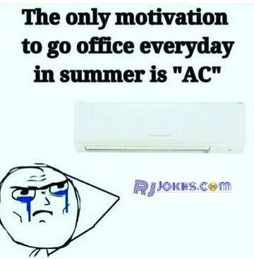 summer motivation to go office