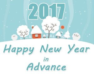 new year in advance wishes