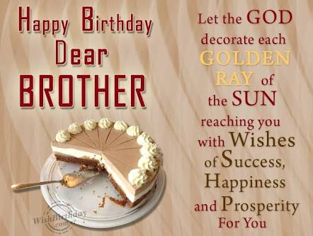 Best Birthday Wishes For Brother And Cousin With Images 2017