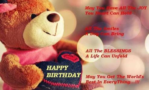 Best Birthday Wishes For Best Friend With Images 2017