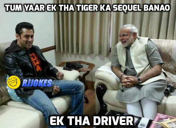 Salman khan and Naren modi joke
