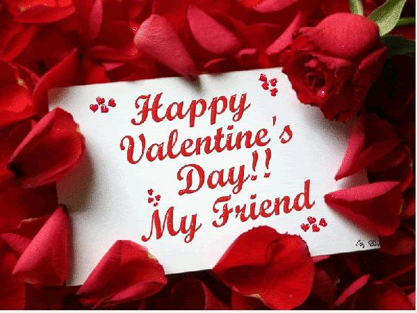 Valentine wishes Friends