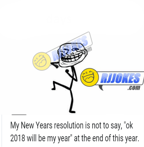 Funny New year Resolutions Which Everyone Should Follow - WhatsApp ...