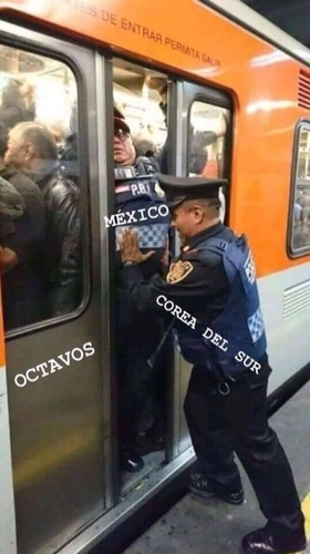 Korean helping Mexican meme