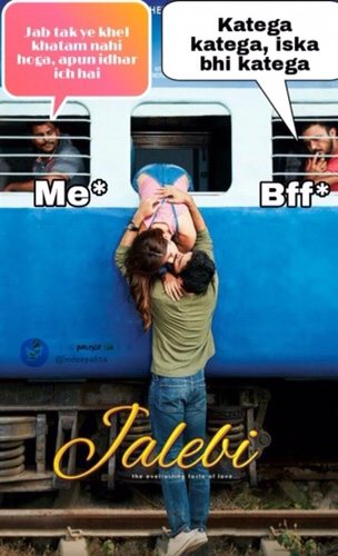 6 Funny Jalebi movie meme