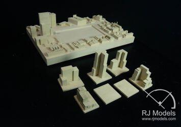 Wooden Architectural Model Balsa Wood Model Architecture Making Rj Models
