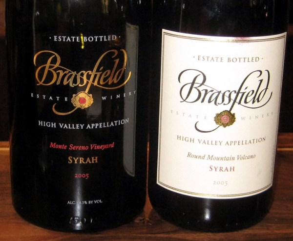 Brassfield Syrahs