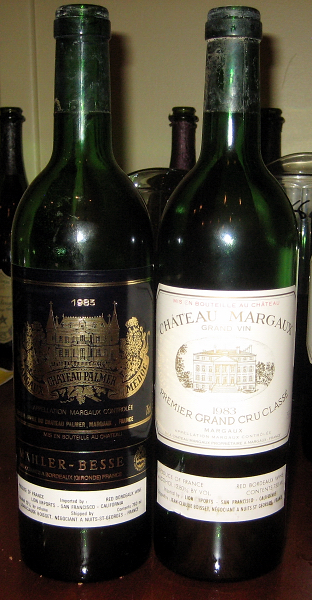 1983 Palmer and Margaux