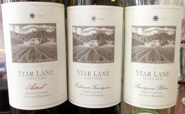 Star Lane wines