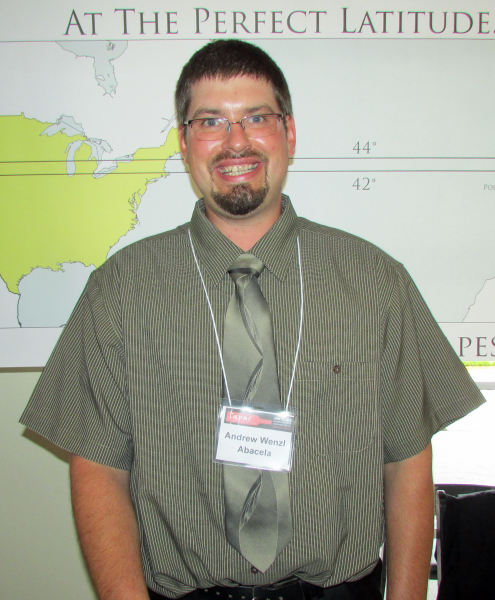 Abacela winemaker Andrew Wenzl