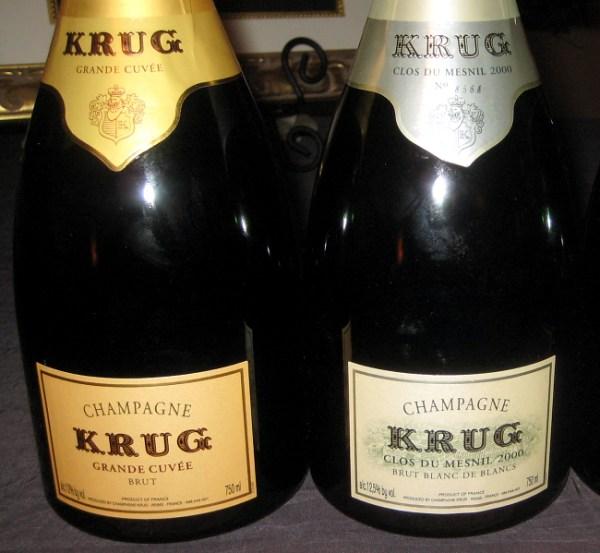Clos du Mesnil Blanc de Blancs bottling
