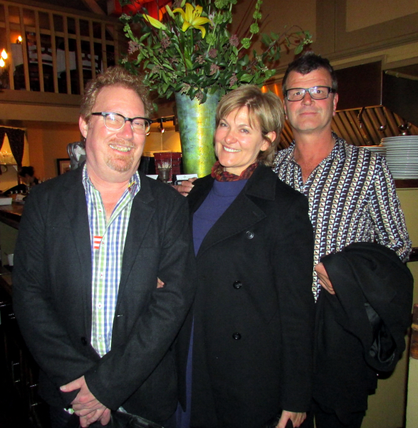 NZ expert Chuck Hayward with Erica & Kim Crawford (Loveblock)