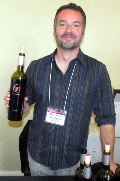 Six Sigma winemaker Matt Hughes