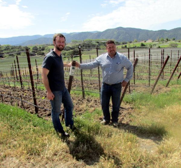 Matt Dees and Ruben Solorzano of Goodland Wines