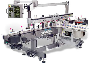 CP2000 front/back or round product labeling system