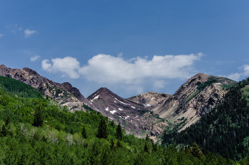 Alpine Peak near Sulver Lake