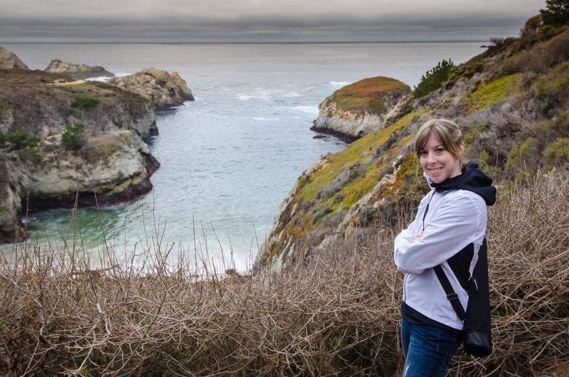 Julie at China Cove