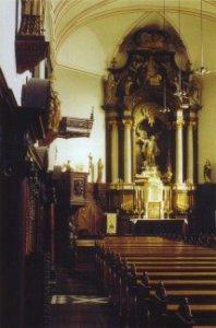 Hoofdaltaar van de St.-Michielskerk.
