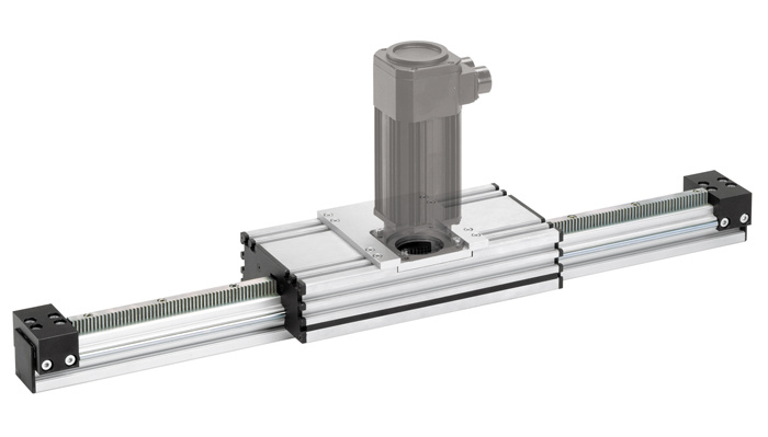 linear units with rack and pinion drive
