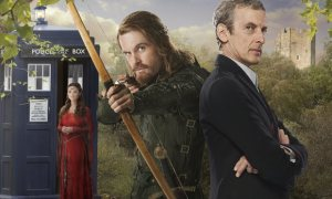 Doctor_Who_series_8__Peter_Capaldi_s_Doctor_meets_Robin_Hood_in_new_Robot_of_Sherwood_photos