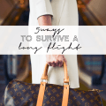 5 ways to survive a long flight