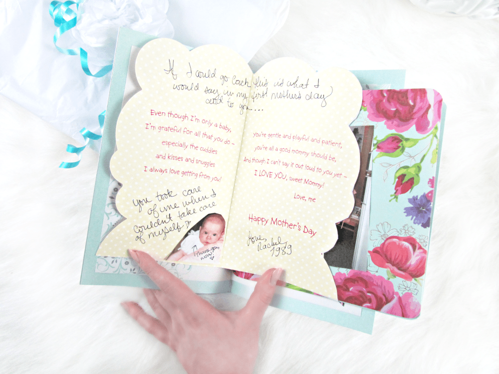 DIY Mother's Day Story Book Gift with American Greetings